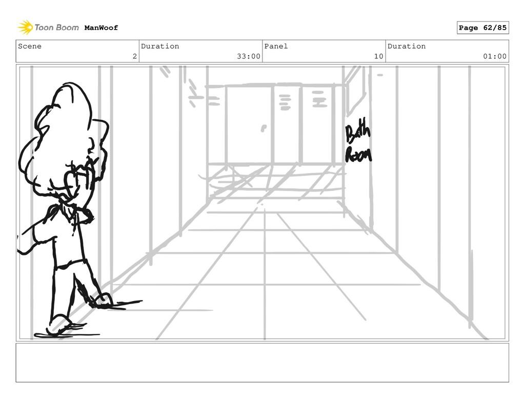 Scene 2 Duration 33:00 Panel 10 Duration 01:00 ...