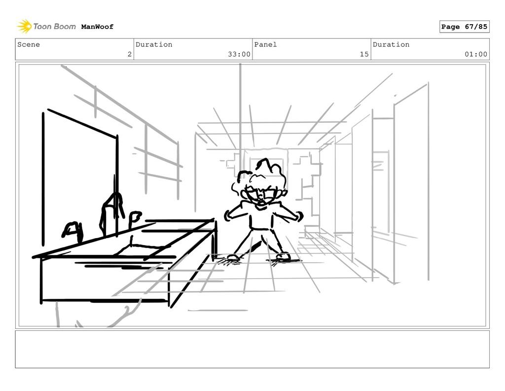 Scene 2 Duration 33:00 Panel 15 Duration 01:00 ...