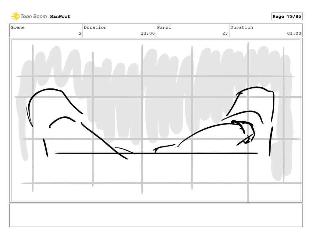 Scene 2 Duration 33:00 Panel 27 Duration 01:00 ...