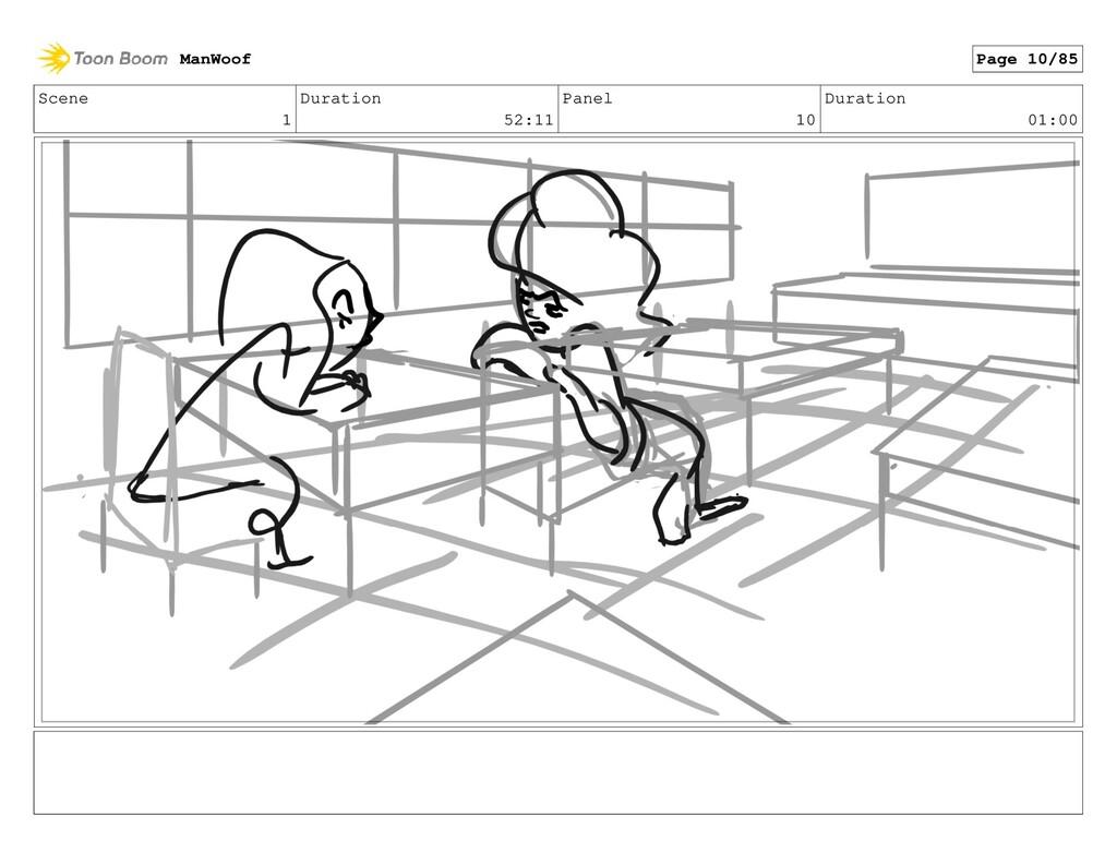Scene 1 Duration 52:11 Panel 10 Duration 01:00 ...