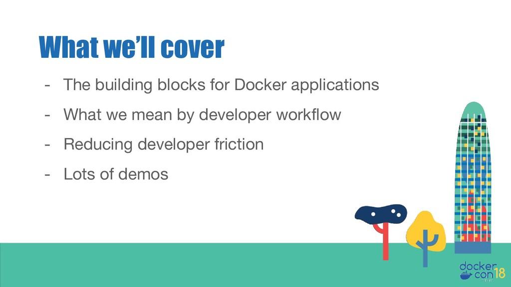 - The building blocks for Docker applications -...