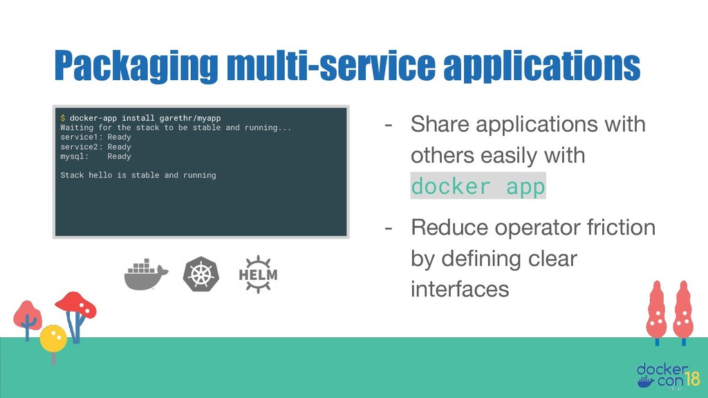 Packaging multi-service applications - Share ap...