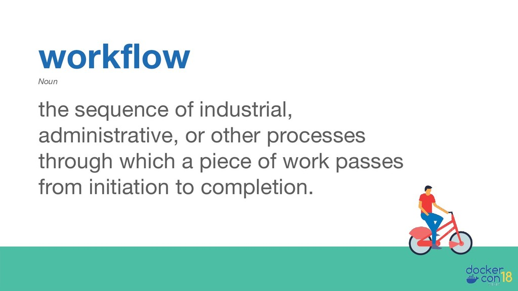workflow Noun the sequence of industrial, admin...