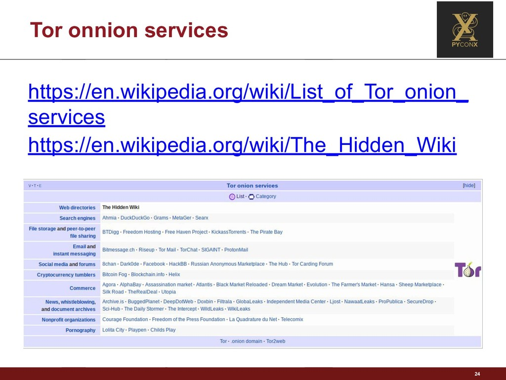 Tor onnion services 24 https://en.wikipedia.org...