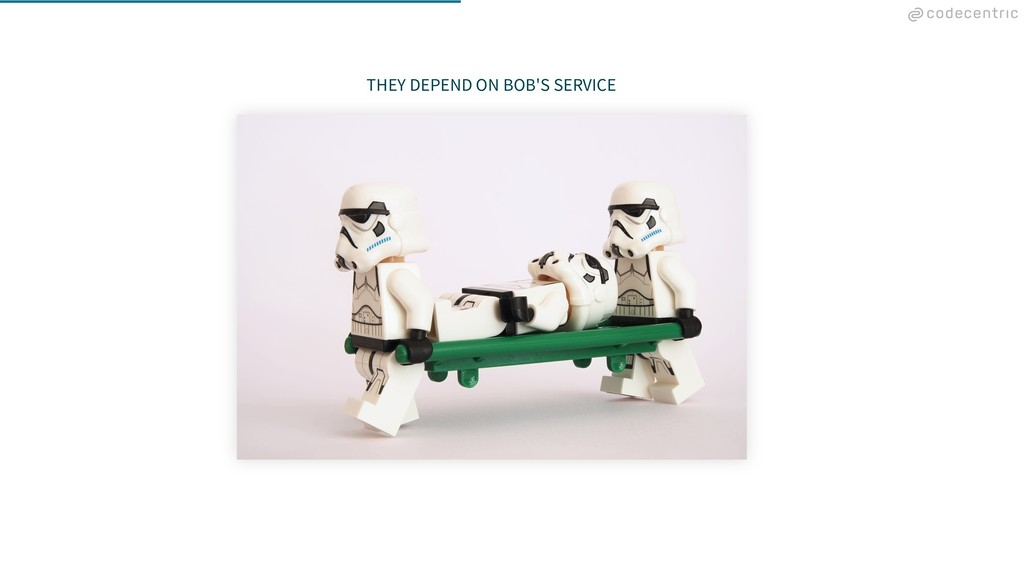 THEY DEPEND ON BOB'S SERVICE
