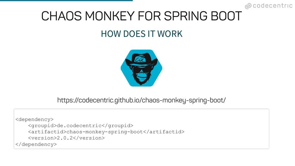 HOW DOES IT WORK <dependency> <groupid>de.codec...