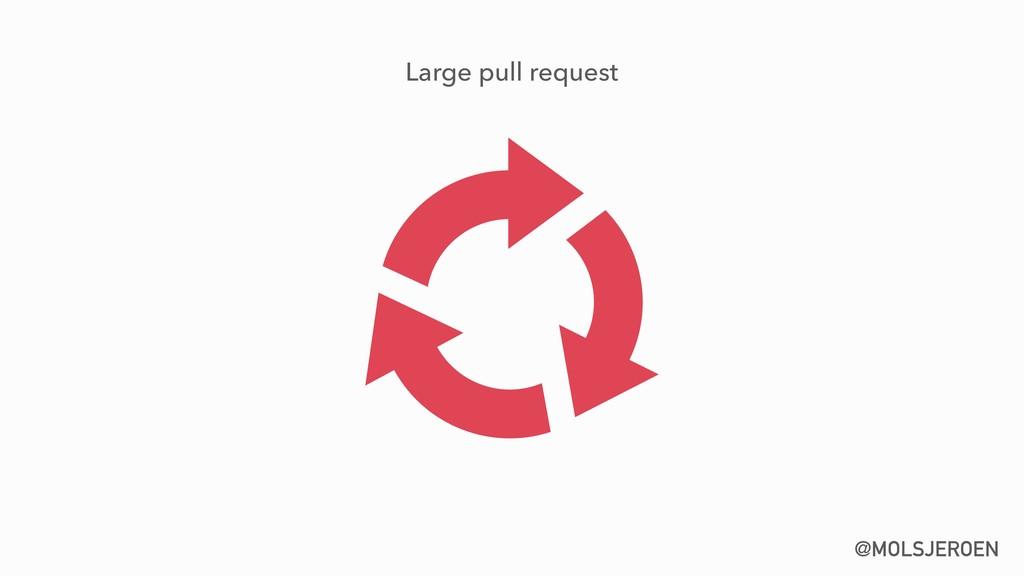 @MOLSJEROEN Large pull request