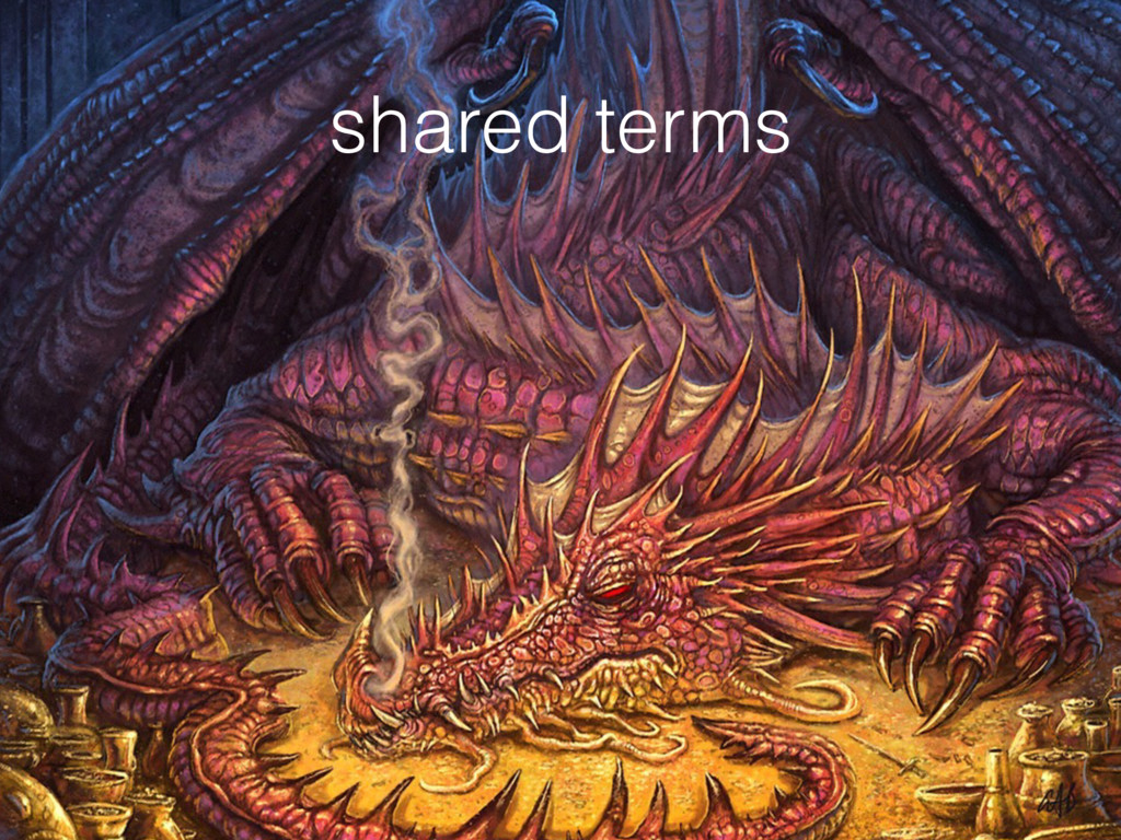 shared terms