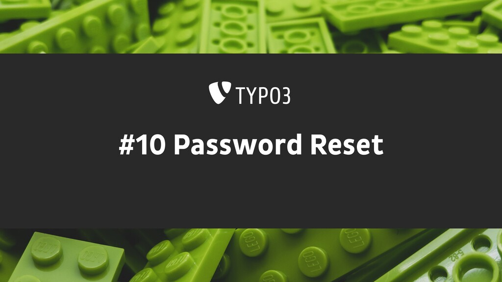 #10 Password Reset