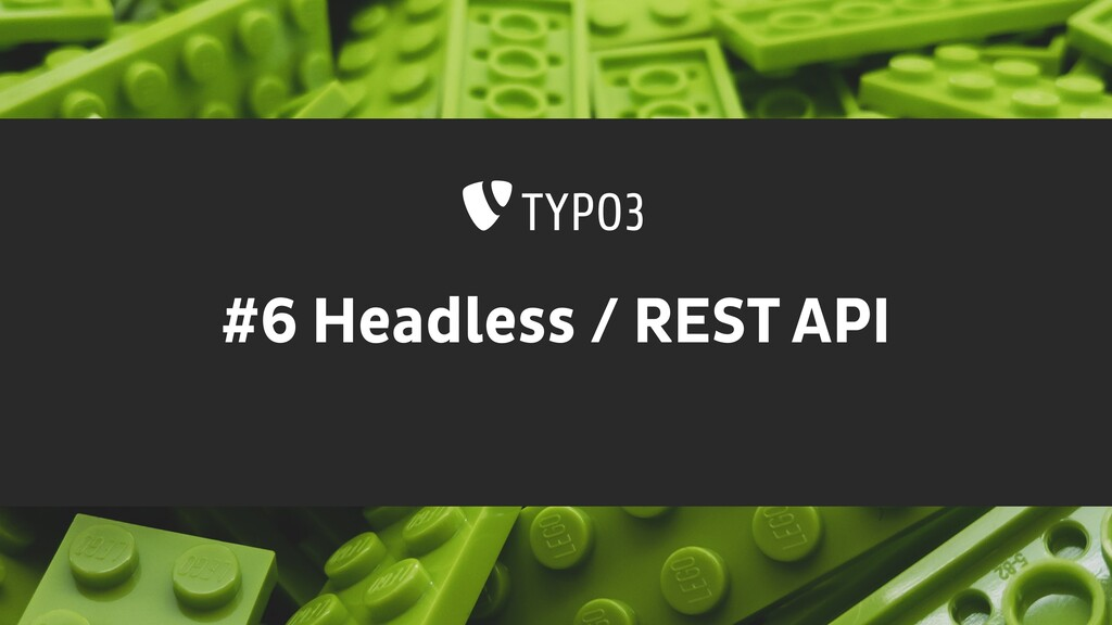 #6 Headless / REST API