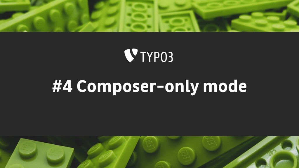 #4 Composer-only mode
