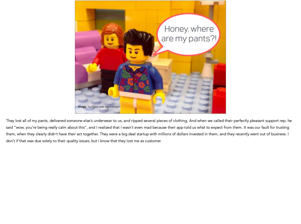 Image: YouTube user legocamps Honey, where are ...