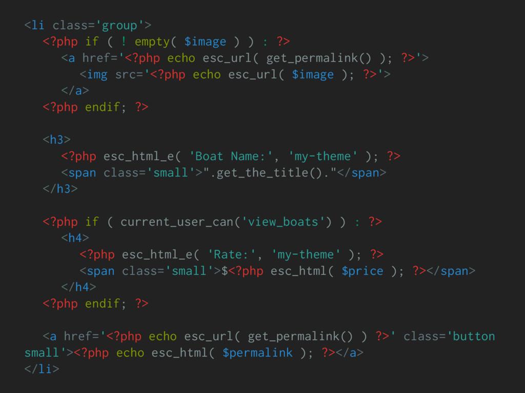 <li class='group'> <?php if ( ! empty( $image )...