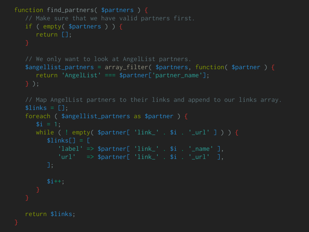 function find_partners( $partners ) { // Make s...