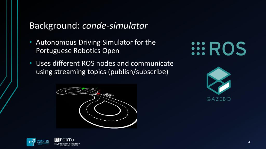 • Autonomous Driving Simulator for the Portugue...