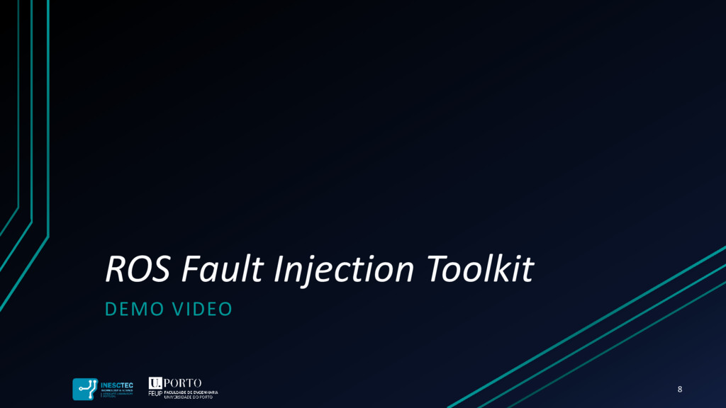 ROS Fault Injection Toolkit DEMO VIDEO 8