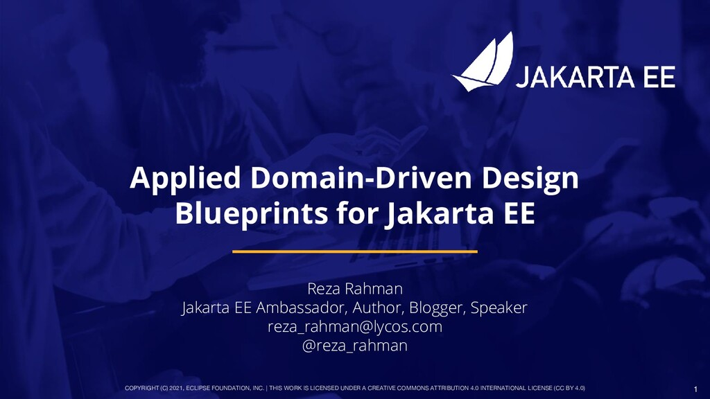Applied Domain- Driven Design Blue Prints for J...
