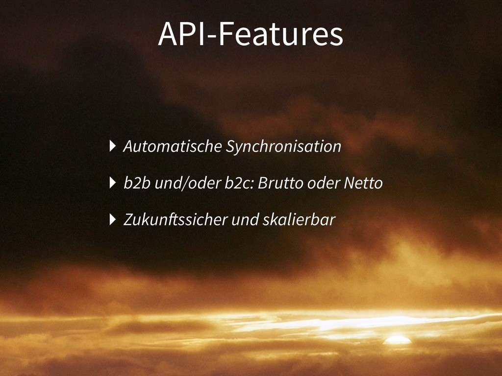 API-Features ‣ Automatische Synchronisation ‣ b...