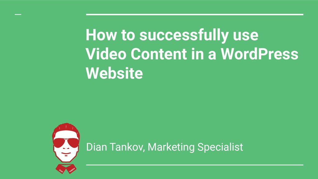 How to successfully use Video Content in a Word...