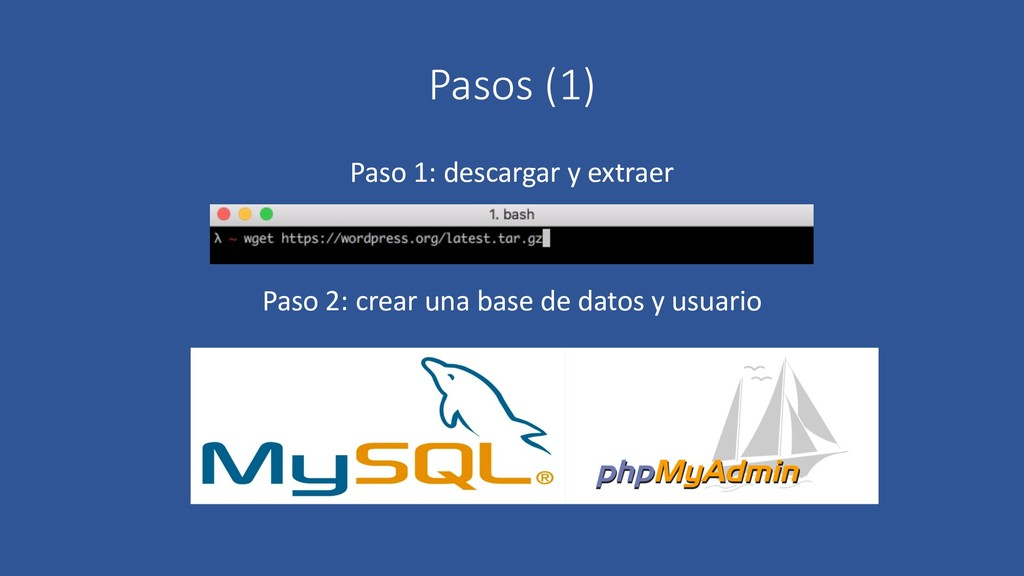 Pasos (1) Paso 1: descargar y extraer Paso 2: c...