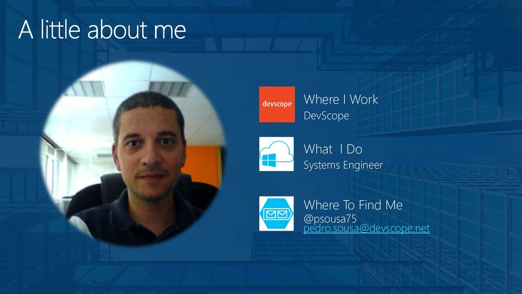 DevScope Where I Work Systems Engineer What I D...