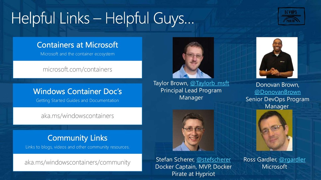 microsoft.com/containers Microsoft and the cont...
