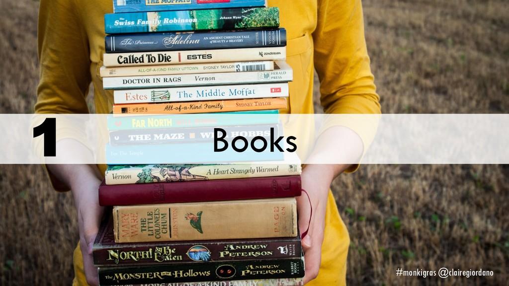 Books 1 #monkigras @clairegiordano