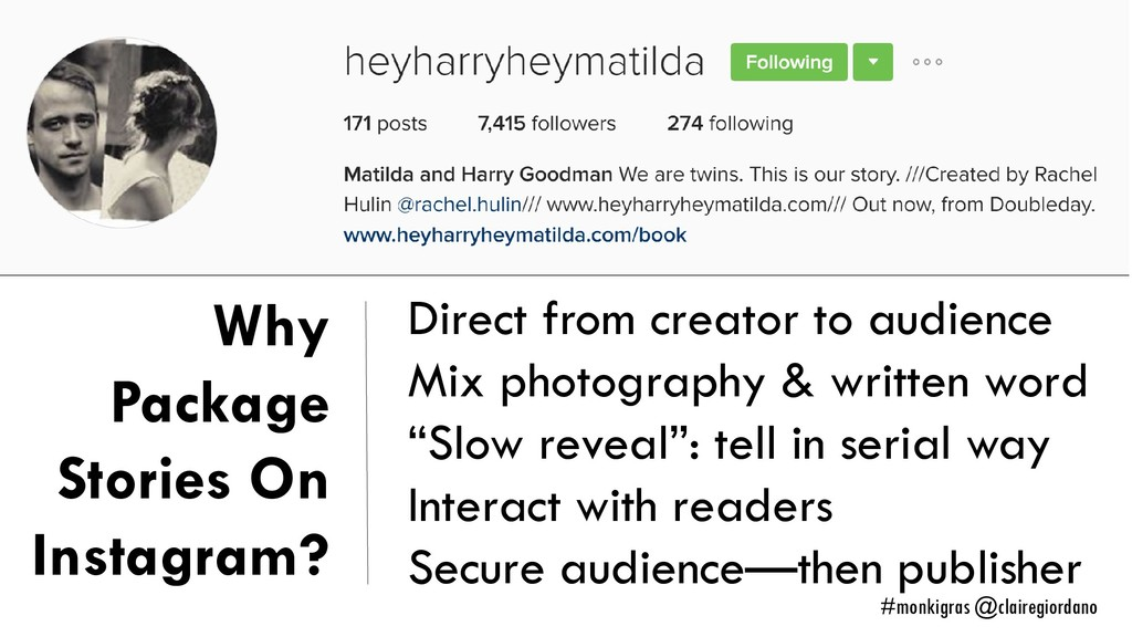 Why Package Stories On Instagram? Direct from c...