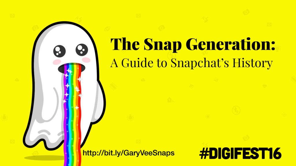http://bit.ly/GaryVeeSnaps The Snap Generation:...