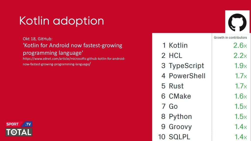 @PreusslerBerlin Kotlin adoption Okt 18, GitHub...