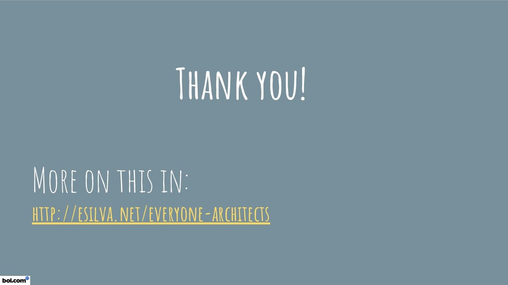 Thank you! More on this in: http://esilva.net/e...