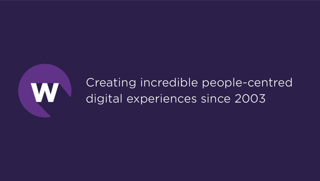 Creating incredible people-centred digital expe...