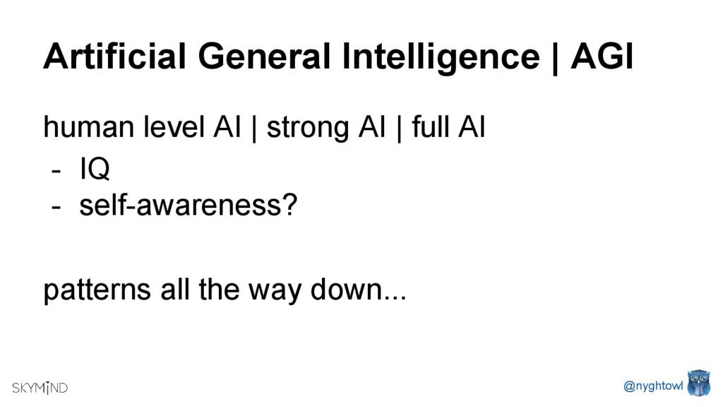 Artificial General Intelligence   AGI human lev...