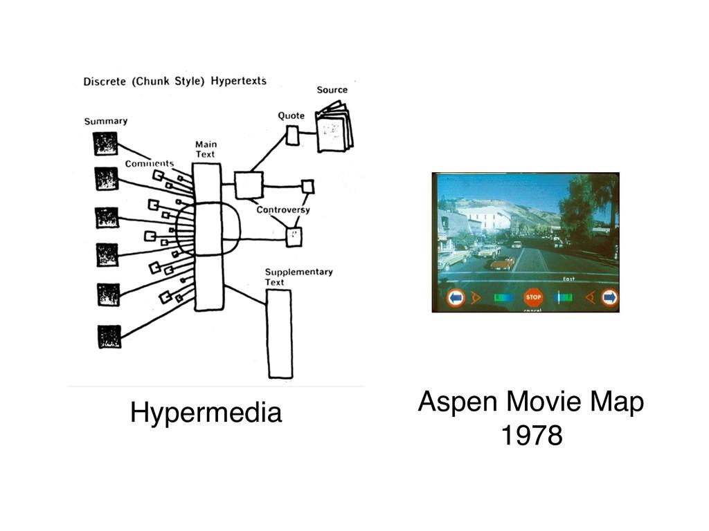 Hypermedia Aspen Movie Map 1978