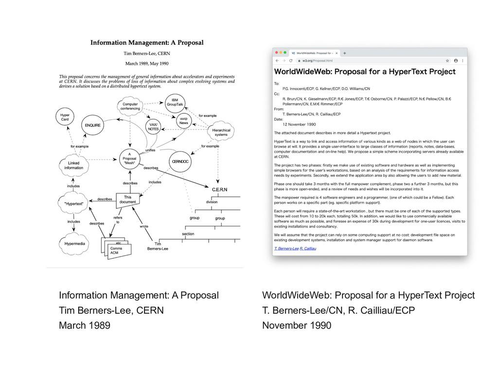 Information Management: A Proposal Tim Berners-...