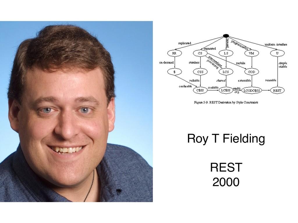 Roy T Fielding REST 2000
