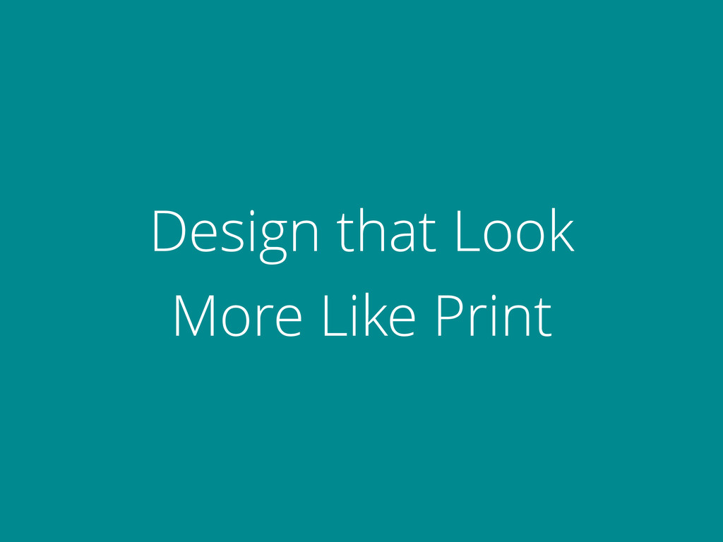 Design that Look 