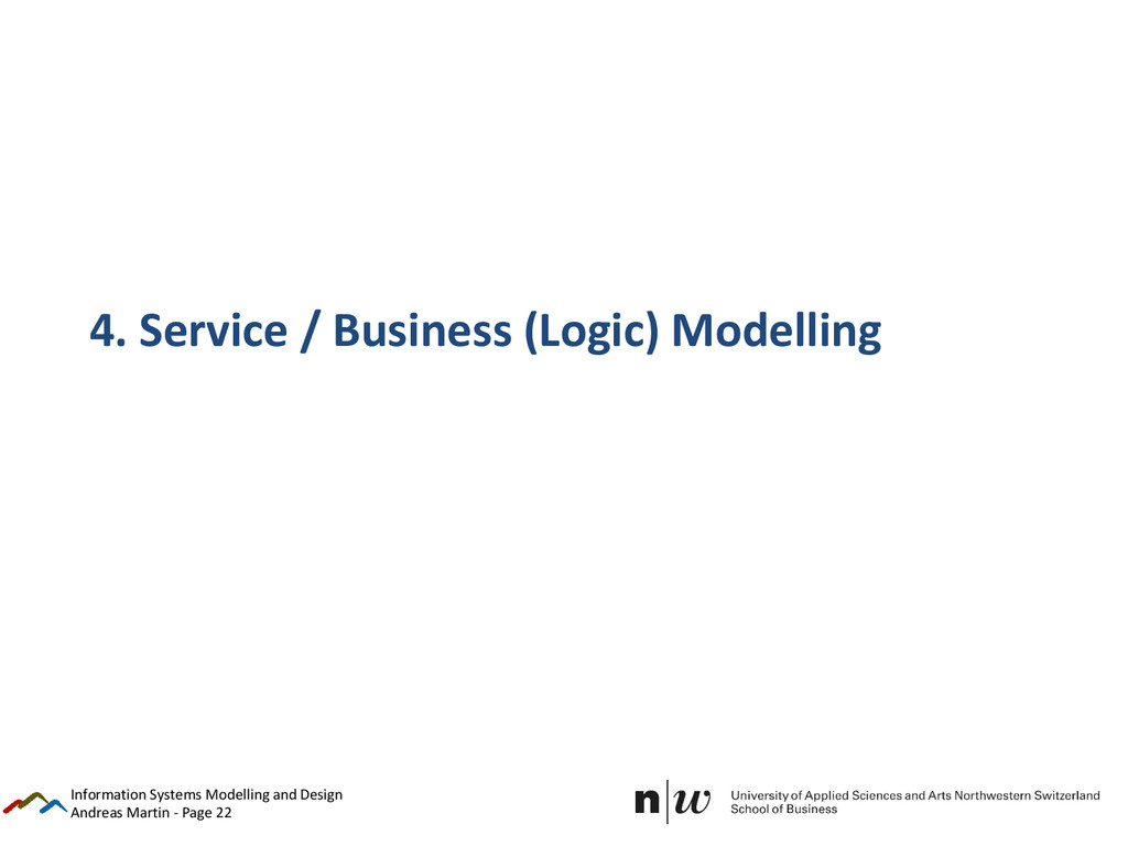 Andreas Martin - Page 22 4. Service / Business ...