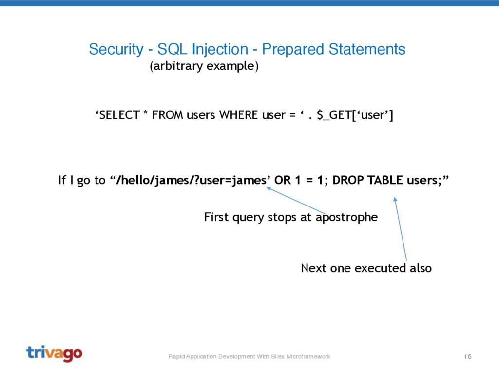 16 Rapid Application Development With Silex Mic...