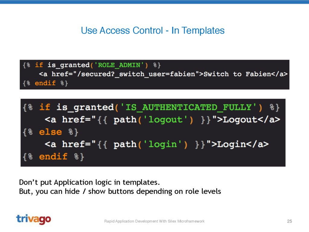 25 Use Access Control - In Templates Rapid Appl...