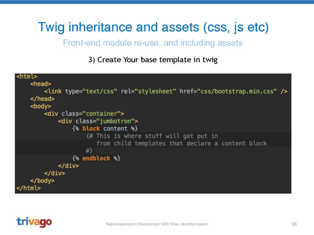 35 Twig inheritance and assets (css, js etc) Fr...
