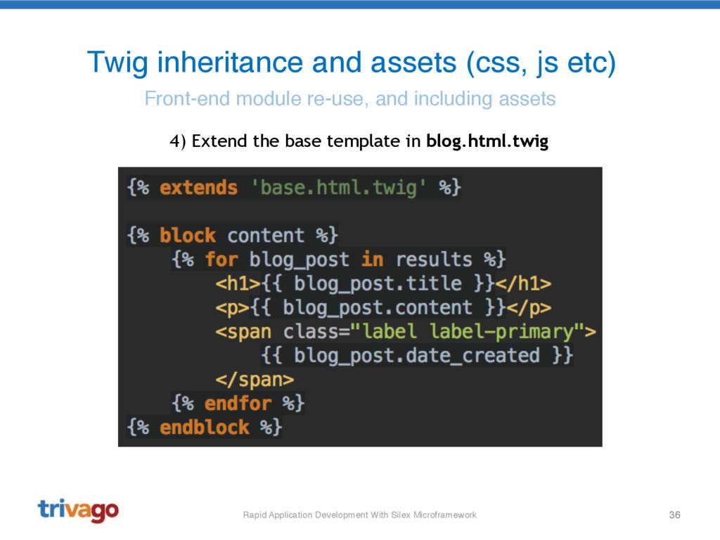 36 Twig inheritance and assets (css, js etc) Fr...