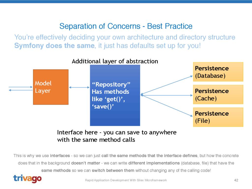 42 Separation of Concerns - Best Practice Rapid...