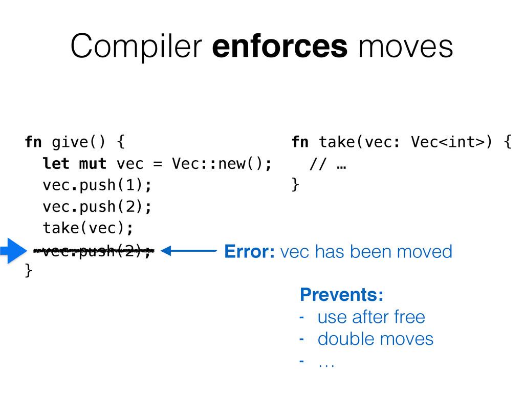 fn give() { let mut vec = Vec::new(); vec.push(...