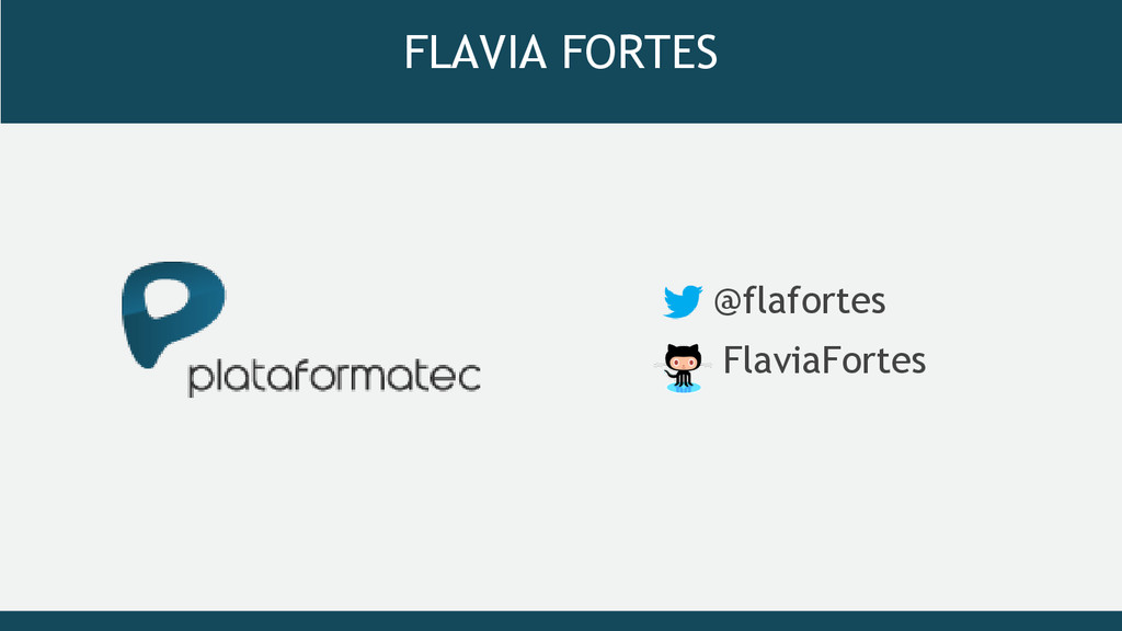 FLAVIA FORTES @flafortes FlaviaFortes