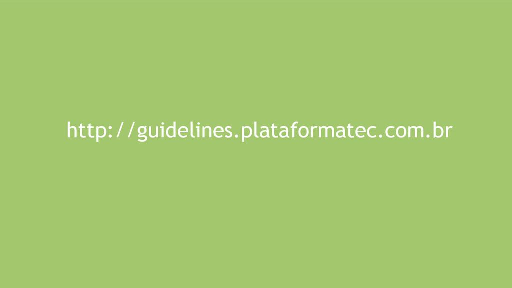 http://guidelines.plataformatec.com.br
