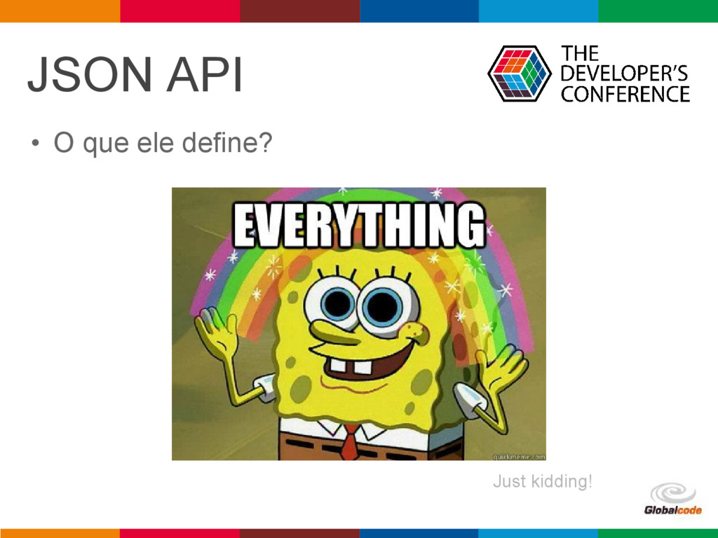 pen4education JSON API • O que ele define? Just...