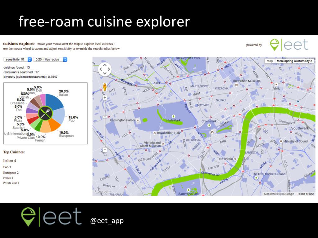 @eet_app    free-‐roam cuisine exp...