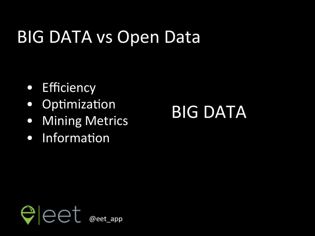 @eet_app    • Efficiency  • OpEmizaEon...