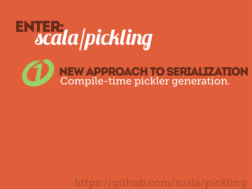/p 1 new approach to serialization Compile-time...